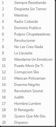 TracklistGS